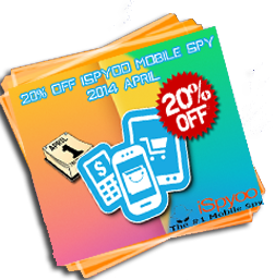 20% Off iSpyoo Mobile Spy 2014 April
