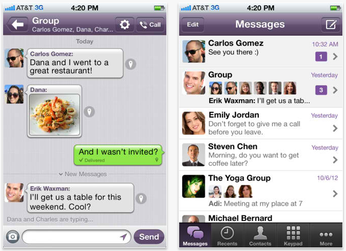 Spy Viber Messages